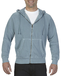 Comfort Colors Adult Full-Zip Hooded Sweatshirt - Ice Blue
