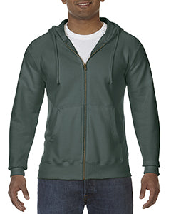 Comfort Colors Adult Full-Zip Hooded Sweatshirt - Willow