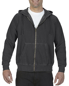 Comfort Colors Adult Full-Zip Hooded Sweatshirt - Graphite