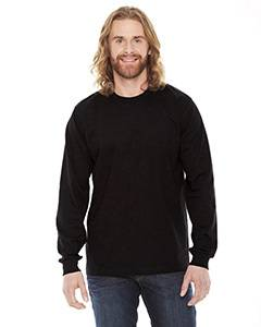 American Apparel Unisex Fine Jersey Long-Sleeve T-Shirt - Black