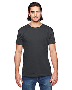 American Apparel Unisex Power Washed T-Shirt - Coal