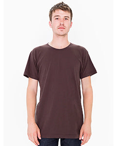 American Apparel Unisex Power Washed T-Shirt - Carob