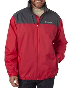 Columbia Men's Glennaker Lake� Rain Jacket - Brt Red/ Grill