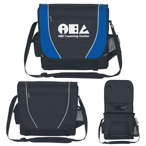 Elite Messenger Bag (Silk-Screen)