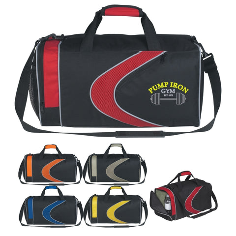 Sports Duffel Bag (Silk-Screen)