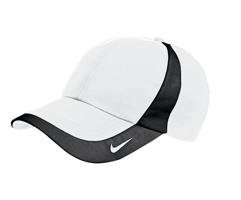 Nike Golf - Dri-FIT Technical Colorblock Cap. 354062 - White/Black