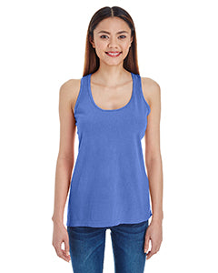 Comfort Colors Ladies'  Lightweight Racerback Tank - Flo Blue