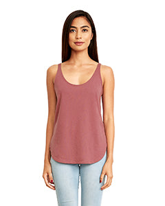 Next Level Ladies' Festival Tank - Smoked Paprika
