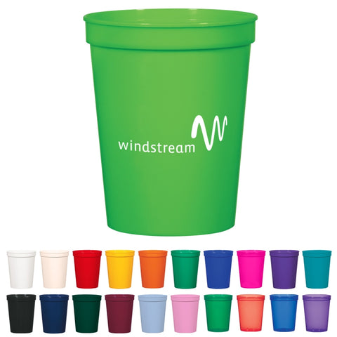 16 Oz. Stadium Cup (Colors)