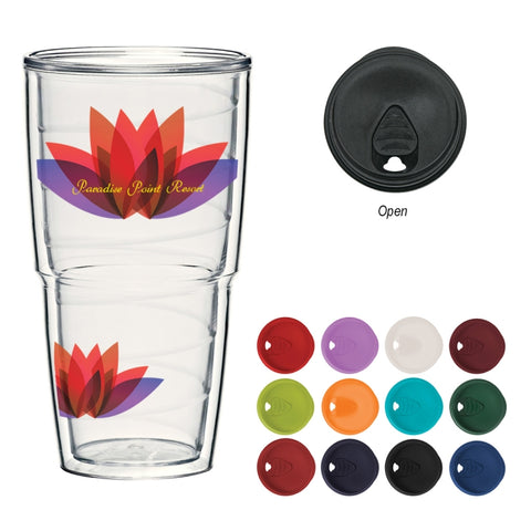 24 Oz. ThermoServ Travel Tumbler