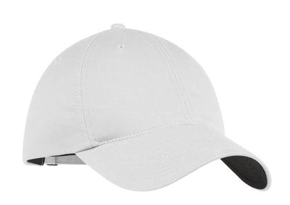 Nike Golf - Unstructured Twill Cap.  580087 - True White