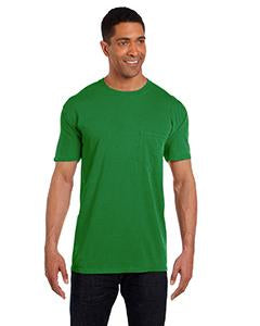 Comfort Colors Adult Heavyweight RS Pocket T-Shirt - Clover