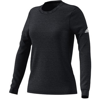Womens Long Sleeve Go To Performance T Shirt Black