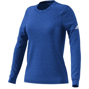 Womens Long Sleeve Go To Performance T Shirt Collegiate Royal