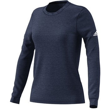 Womens Long Sleeve Go To Performance T Shirt Collegiate Navy