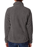 Columbia Ladies' Benton Springs� Full-Zip Fleece - Charcoal Hthr