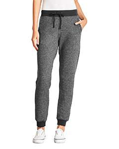 Next Level Ladies' Denim Fleece Jogger - Black