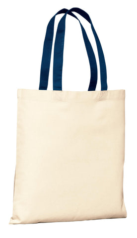 Port Authority ®  - Budget Tote.  B150 - Natural/Navy