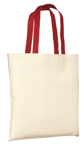 Port Authority ®  - Budget Tote.  B150 - Natural/Red