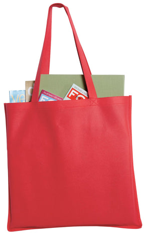 Port Authority ®  - Polypropylene Tote. B156 - Red