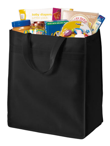 Port Authority ®  Standard Polypropylene Grocery Tote. B159 - Black