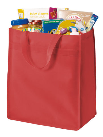 Port Authority ®  Standard Polypropylene Grocery Tote. B159 - Red