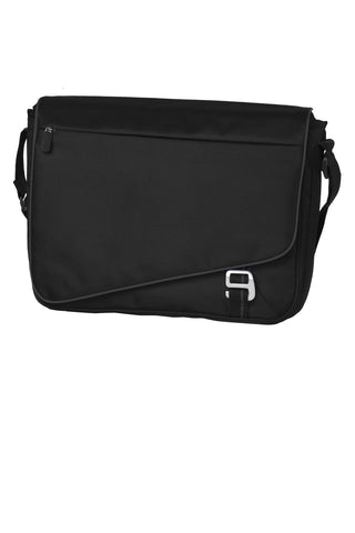 Port Authority ®  Transit Messenger. BG302 - Black/ Deep Smoke