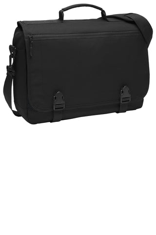 Port Authority ®  Messenger Briefcase. BG304 - Black