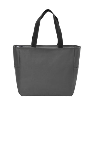 Port Authority ®  Essential Zip Tote. BG410 - Dark Charcoal