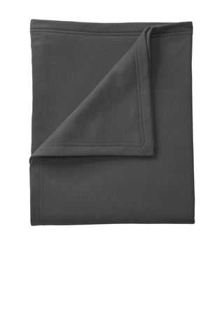 Port & Company ®  Core Fleece Sweatshirt Blanket. BP78 - Charcoal