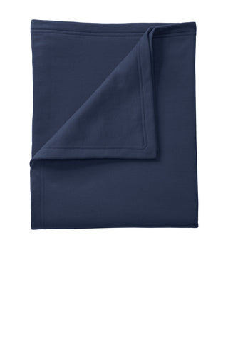 Port & Company ®  Core Fleece Sweatshirt Blanket. BP78 - Navy