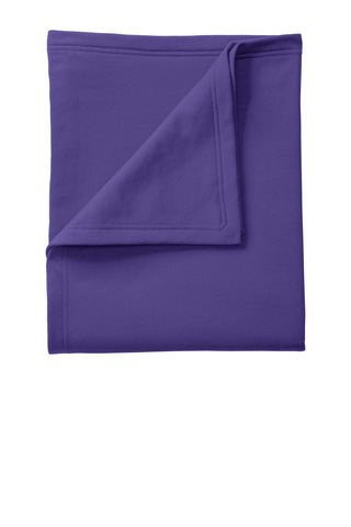 Port & Company ®  Core Fleece Sweatshirt Blanket. BP78 - Purple
