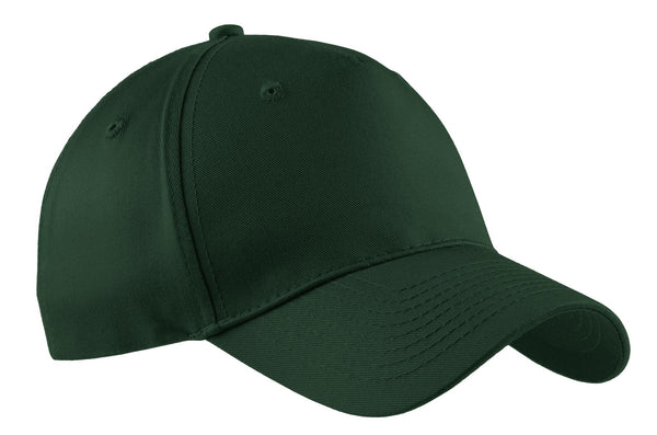 7b7268ba325 Port   Company ® - Five-Panel Twill Cap. CP86 - Hunter - Customize   Buy –  Brand RPM