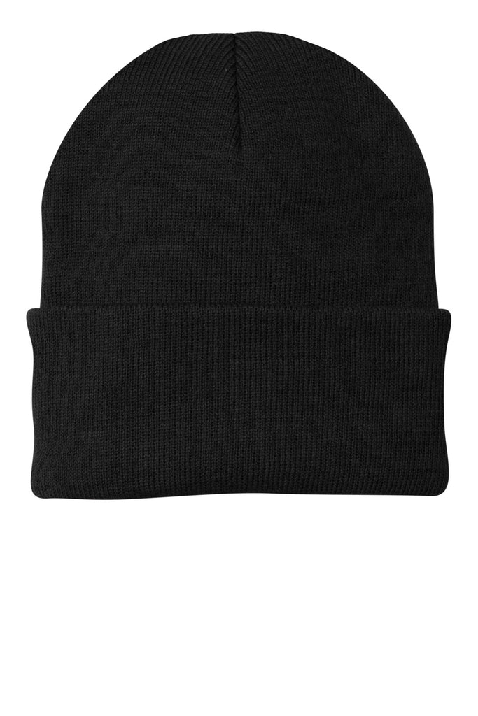 dc1a0be4f0d Port   Company ® - Knit Cap. CP90 - Black - Customize   Buy – Brand RPM