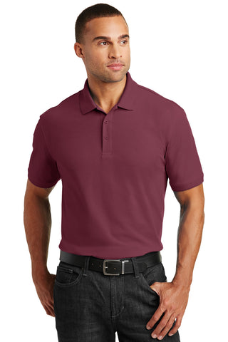 Port Authority ®  Core Classic Pique Polo. K100 - Burgundy
