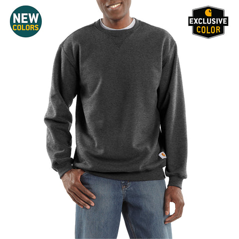 Mens Midweight Crewneck Sweatshirt - Carbon Heather