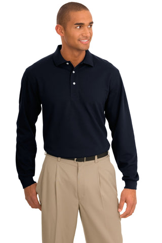 Port Authority ®  Tall Rapid Dry™ Long Sleeve Polo. TLK455LS - Classic Navy