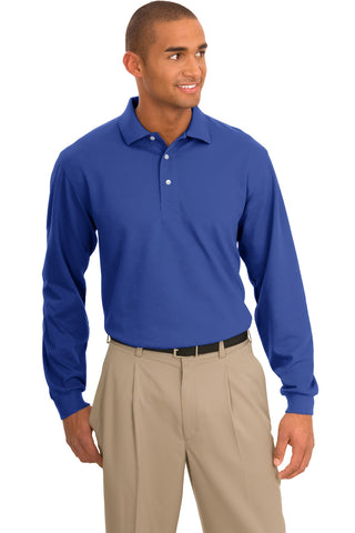 Port Authority ®  Tall Rapid Dry™ Long Sleeve Polo. TLK455LS - Royal