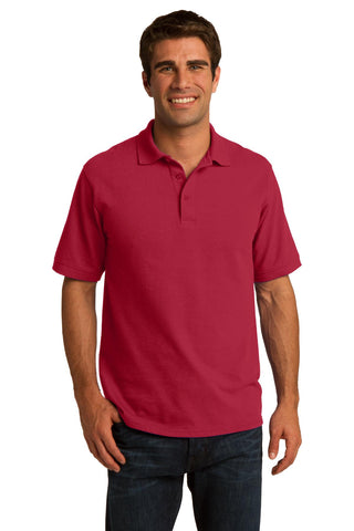 Port & Company ®  Core Blend Pique Polo. KP155 - Red
