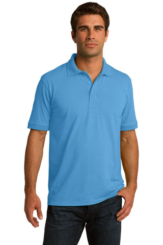 Port & Company ®  Core Blend Jersey Knit Polo. KP55 - Aquatic Blue