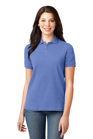 Port Authority ®  Ladies Heavyweight Cotton Pique Polo.  L420 - Blueberry