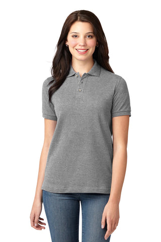 Port Authority ®  Ladies Heavyweight Cotton Pique Polo.  L420 - Oxford