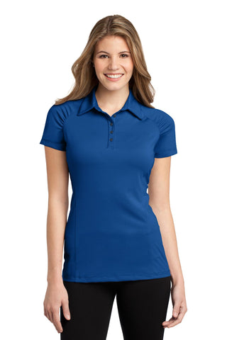 Port Authority ®  Ladies Fine Stripe Performance Polo. L558 - Seaport Blue/ Dress Blue Navy