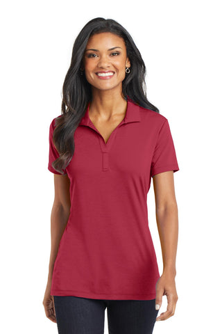 Port Authority ®  Ladies Cotton Touch ™  Performance Polo. L568 - Chili Red