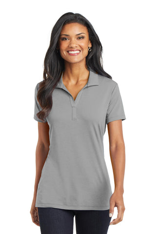 Port Authority ®  Ladies Cotton Touch ™  Performance Polo. L568 - Frost Grey