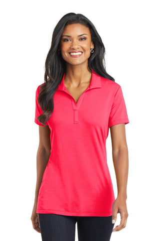 Port Authority ®  Ladies Cotton Touch ™  Performance Polo. L568 - Hot Coral
