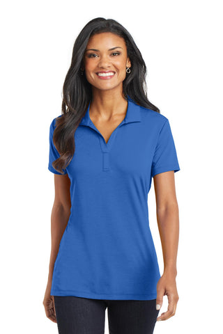 Port Authority ®  Ladies Cotton Touch ™  Performance Polo. L568 - Strong Blue