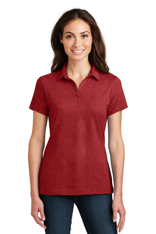 Port Authority ®  Ladies Meridian Cotton Blend Polo. L577 - Flame Red
