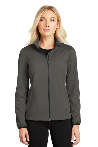 Port Authority ®  Ladies Active Soft Shell Jacket. L717 - Grey Steel