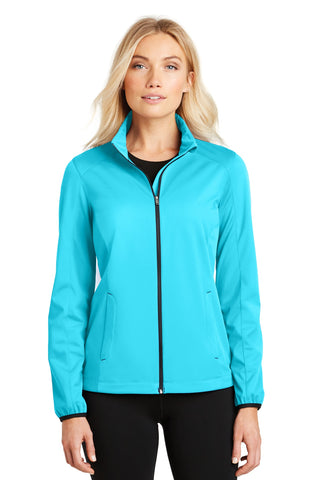 Port Authority ®  Ladies Active Soft Shell Jacket. L717 - Light Cyan Blue